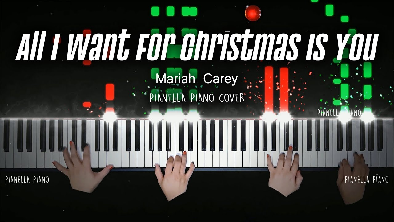 All i want for christmas piano cover