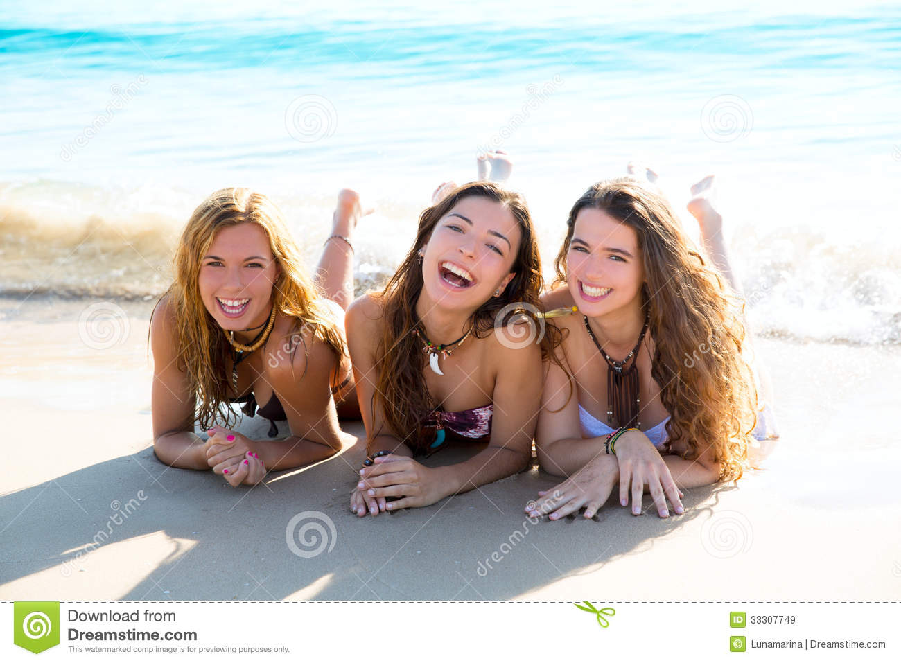 Free picture of beach teen